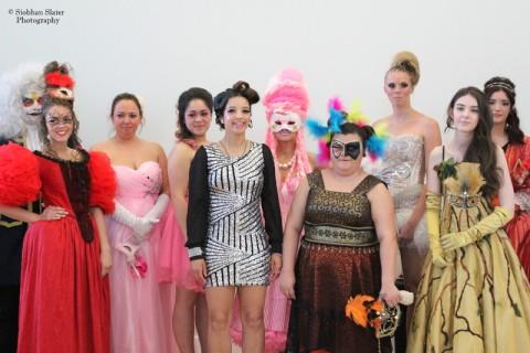 Masquerade Hair Show Models