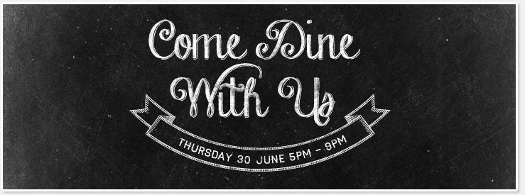 CDWU Thursday 30 June 2016 - 5pm-9pm