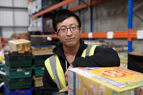 Jason Chau on work placement with FareShare