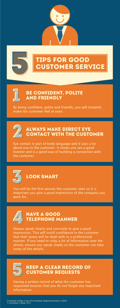 5 Tips to Good Customer Service