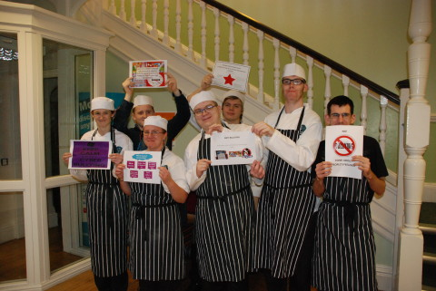 Catering students help create Anti Bullying Poster