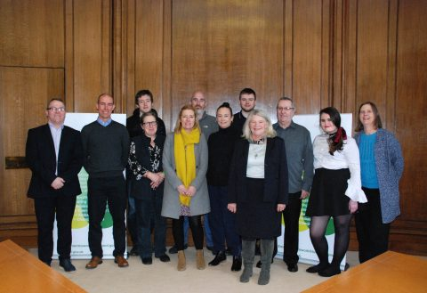 Supported Interns with their families, placement managers and Liverpool City Council workers