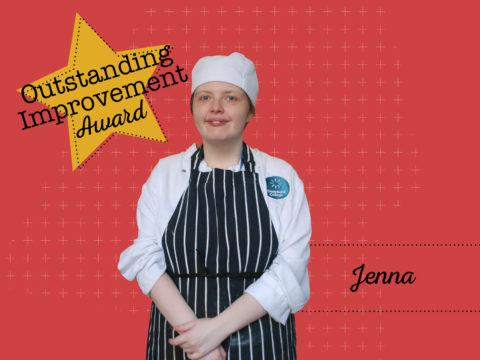Outstanding Improvement Award Winner - Jenna