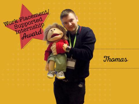 Work Placement/Supported Internship Winner - Thomas