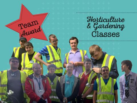 Team Award Winners - Gardening & Horticulture Classes