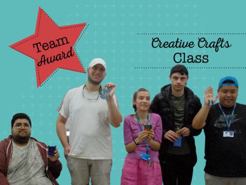 Team Award Winners - Creative Crafts Class