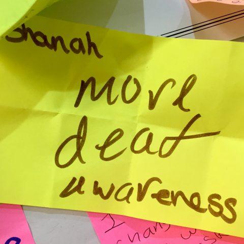 More deaf awareness