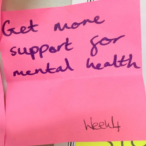 Get more support for mental health